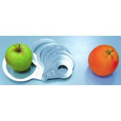 Calibre de anillas para frutas