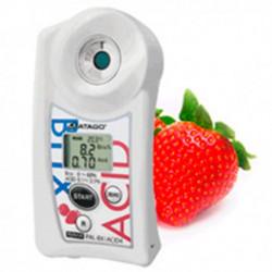 Refractómetro digital para fresa PAL-BX/ACID 4